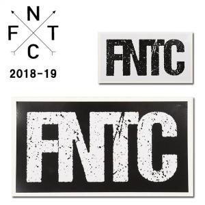 2019 FNTC エフエヌティーシー STICKER FNTC LOGO 【ステッカー/シール/スノーボード/日本正規品】|snb-shop