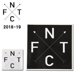 2019 FNTC エフエヌティーシー STICKER FNTC CROSS 【ステッカー/シール/スノーボード/日本正規品】|snb-shop