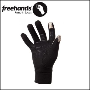 FREEHANDS/フリーハンズ グローブ POWER STRETCH 5 FING/BLK|snb-shop
