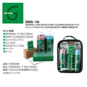 ガリウム GALLIUM チューニング GENERAL・F Set(100ml) SW2099|snb-shop