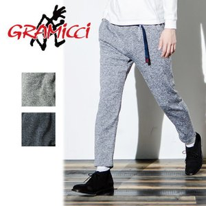 GRAMICCI グラミチ BONDING KNIT FLEECE SLIM PANTS ボンディングニットフリーススリムパンツ GMP-18F015 【アウトドア/パンツ/メンズ/フリース】|snb-shop