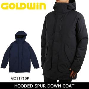 GOLDWIN ゴールドウィン コート HOODED SPUR DOWN COAT GO11710P 【服】アウター メンズ ダウン スキー スノボ|snb-shop