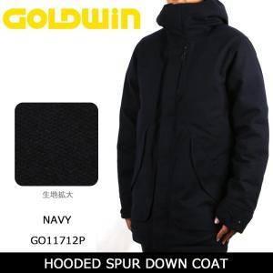 GOLDWIN ゴールドウィン コート HOODED SPUR DOWN COAT GO11712P 【服】アウター メンズ ダウン スキー スノボ|snb-shop