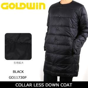 GOLDWIN ゴールドウィン コート COLLAR LESS DOWN COAT GO11730P 【服】アウター メンズ ダウン スキー スノボ|snb-shop