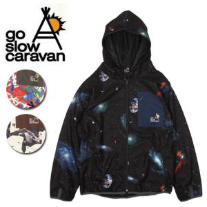 go slow caravan ゴースローキャラバン フリース昇華プリント パーカージャケット (MENS) 390803 【アウトドア/パーカー/ジャケット/アウター/メンズ】 snb-shop