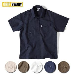 GRIP SWANY グリップスワニー HEMP CAMP SHIRT ヘンプキャンプシャツ GSS-25 【シャツ/アウトドア/キャンプ/半袖】|snb-shop