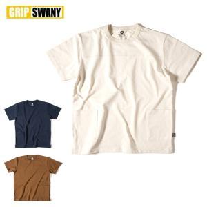 GRIP SWANY グリップスワニー CAMP POCKET T SHIRT キャンプポケットTシャツ GSC-23 【半袖/キャンプ/アウトドア/Tシャツ】|snb-shop
