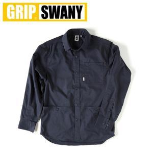 GRIP SWANY グリップスワニー  FIREPROOF WORK SHIRT GSS-22 【アウトドア/アウター/シャツ/インナー/メンズ/焚火/難燃素材】|snb-shop