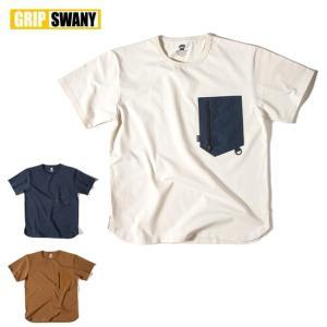 GRIP SWANY グリップスワニー GEAR POCKET T SHIRT GSC-27 【半袖/Tシャツ/アウトドア】【メール便・代引不可】|snb-shop