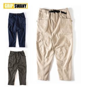 GRIP SWANY グリップスワニー JOG 3D LINING WIDE CAMP PANTS ...