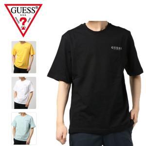 GUESS ゲス OVERSIZE BACK TRIANGLE LOGO TEE オーバーサイズ バックトライアングル MJ2K9418K 【アウトドア/半袖/Tシャツ/トップス/夏】【メール便・代引不可】|snb-shop