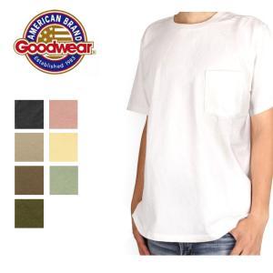 GOODWEAR グッドウェア Made in USA Tシャツ S/S CREW NECK POCKET TEE クルーネック ポケット TEE 日本正規品 メンズ レディース 半袖 【メール便・代引不可】|snb-shop