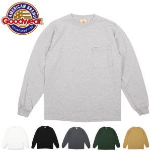 GOODWEAR グッドウェア L/S CREW NECK POCKET TEE 長袖 30007 【日本正規品/アウトドア/メンズ/Tシャツ】|snb-shop
