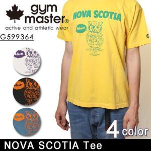 ジムマスター gym master Tシャツ NOVA SCOTIA Tee G599364 メンズ・レディース 正規品 【メール便・代引不可】 snb-shop