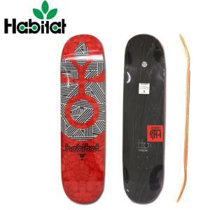 HABITAT/ハビタット デッキ TERRAFOAM RED/HABI-D014|snb-shop