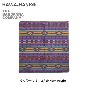 HAVE A HANK/ハバハンク バンダナ/バンダナシリーズ/Blanket Bright|snb-shop