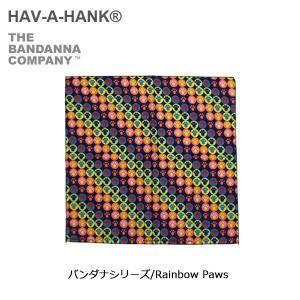 HAVE A HANK/ハバハンク バンダナ/バンダナシリーズ/Rainbow Paws|snb-shop