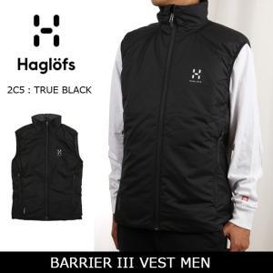 HAGLOFS/ホグロフス ベスト BARRIER III VEST MEN 602176 【服】メンズ インサレーション コンパクト 防寒 snb-shop