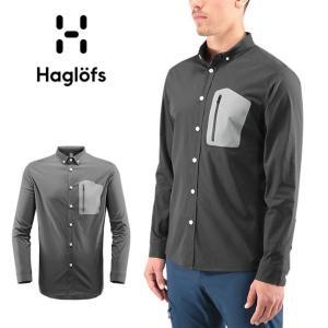 HAGLOFS/ホグロフス 長袖シャツ BRUNN LS SHIRT MEN 603834 【服】メンズ トレッキング 速乾性 伸縮性 snb-shop