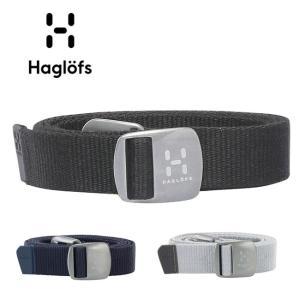 HAGLOFS/ホグロフス Sarek Belt 603551 【ベルト/メタルバックル/ブルーサイン】|snb-shop