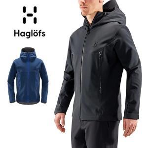 HAGLOFS/ホグロフス Tokay Hood Men 604027 【フーディ/ナイロン/フリースライナー/ソフトシェル/メンズ/アウター】|snb-shop