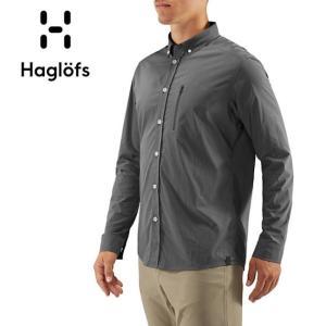 HAGLOFS ホグロフス BRUNN LS SHIRT MEN 604395 【長袖/シャツ/メンズ/ナイロン/速乾性/トレッキング】 snb-shop