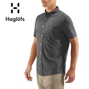 HAGLOFS ホグロフス BRUNN SS SHIRT MEN 604396 【半袖/シャツ/メンズ/ナイロン/速乾性/トレッキング】 snb-shop