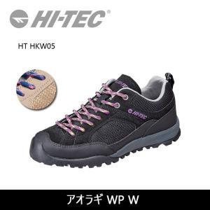 HI-TEC ハイテック レディース スニーカー アオラギ WP W HT HKW05 【靴】アウトドア ジュニア ウィメンズ シューズ 靴|snb-shop