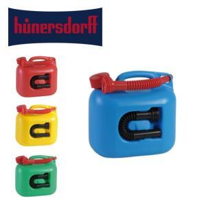 hunersdorff ヒューナースドルフ Fuel can PREMIUM 5L フューエルカン プレミアム 【アウトドア/タンク/給水/キャンプ/燃料タンク】|snb-shop