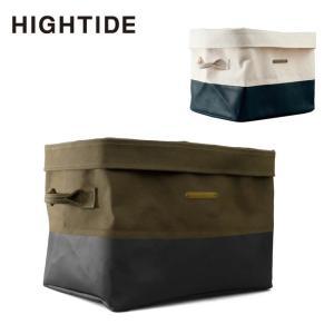 HIGHTIDE ハイタイド Canvas Storage - Square キャンバスストレージ スクエア ez035 【収納バスケット/収納カゴ/折り畳み/アウトドア】|snb-shop