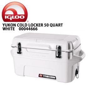 IGLOO イグルー クーラーボックス YUKON 50 Case WHITE 00044666 【FUNI】【FZAK】|snb-shop