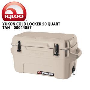 IGLOO イグルー クーラーボックス YUKON 50 Case TAN 00044857 【FUNI】【FZAK】|snb-shop