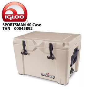 IGLOO イグルー クーラーボックス SPORTSMAN 40 Case TAN/TAN/BLACK 00045892 【FUNI】【FZAK】|snb-shop