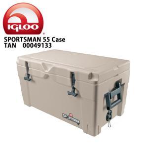 IGLOO イグルー クーラーボックス SPORTSMAN 55 Case TAN/TAN/BLACK 00049133 【FUNI】【FZAK】|snb-shop