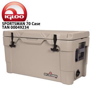 IGLOO イグルー クーラーボックス SPORTSMAN 70 Case TAN/TAN/BLACK 00049234 【FUNI】【FZAK】|snb-shop