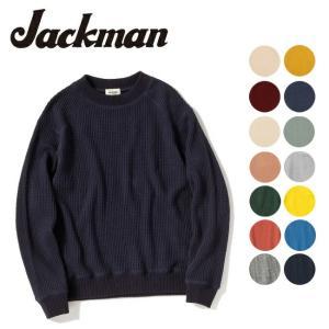Jackman ジャックマン セーター WAFFLE MID NECK JM7653 【服】メンズ ...