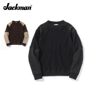 Jackman ジャックマン Waffle Armored Mid-neck ワッフルアーマードミッ...