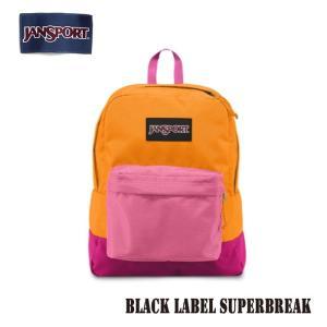 ジャンスポーツ jansport リュック スーパーブレイク SUPERBREAK BLACK LABEL ORANGE GOLD T60G01E jan15-018|snb-shop