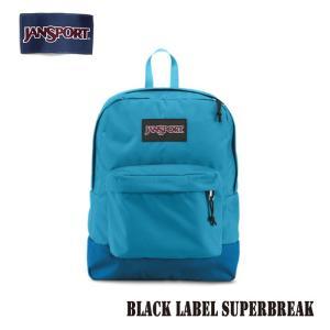 ジャンスポーツ jansport リュック スーパーブレイク SUPERBREAK BLACK LABEL BLUE CREST T60G01F jan15-019|snb-shop