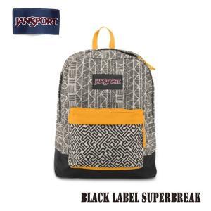 ジャンスポーツ jansport リュック スーパーブレイク SUPERBREAK BLACK LABEL SOFT TAN TRIBAL STRIPE T60G02B jan15-022|snb-shop