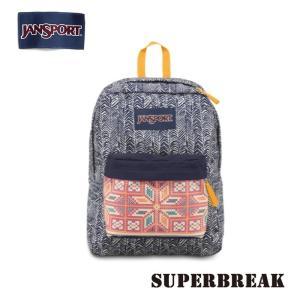 ジャンスポーツ jansport リュック スーパーブレイク SUPERBREAK NAVY MOONSHINE CHEVRON STRIPE T50101J jan15-032|snb-shop