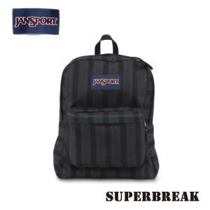 ジャンスポーツ jansport リュック スーパーブレイク SUPERBREAK MAMMOTH BLUE STRIPE T501ZD5 jan15-067|snb-shop