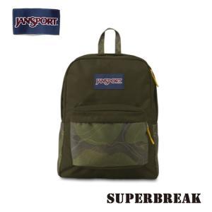 ジャンスポーツ jansport リュック スーパーブレイク SUPERBREAK GREEN MACHINE TOPO CAMO T501ZG8 jan15-075|snb-shop