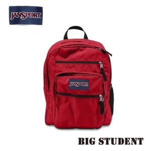 ジャンスポーツ jansport リュック ビッグスチューデント BIG STUDENT HIGH RISK RED TDN75KS jan15-095|snb-shop