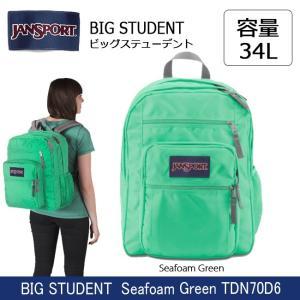 ジャンスポーツ jansport BIG STUDENT(ビッグステューデント) Seafoam Green TDN70D6 【カバン】 リュック バックパック デイパック|snb-shop