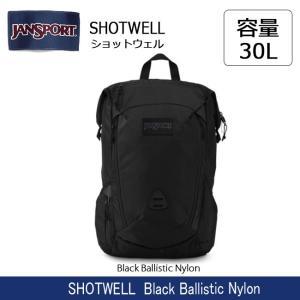 ジャンスポーツ jansport SHOTWELL(ショットウェル) Black Ballistic Nylon JS0A382E0BJ 【カバン】 リュック バックパック デイパック|snb-shop