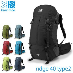 カリマー Karrimor リッジ ridge 40 type 2 karr-005 【40L】【ザック/リュック/バックパック】アウトドア|トレッキング|メンズ|レディース|通勤|通学||snb-shop