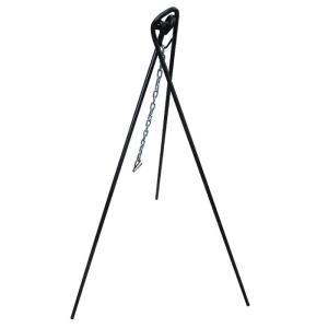 カシワ バーベキュー用品  トリポットグリル(鎖付)大 1500mm|snb-shop