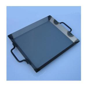 カシワ バーベキュー用品  鉄板(ミニ) 350W×300H|snb-shop