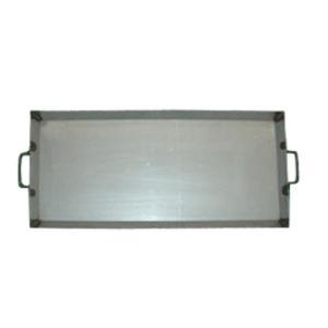 カシワ バーベキュー用品  鉄板(中ワイド) 760W×350H|snb-shop